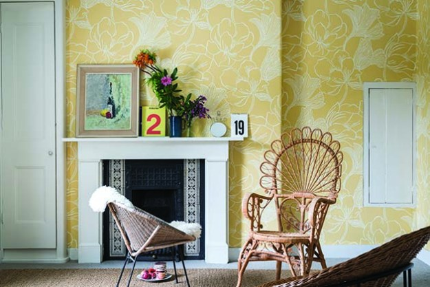 Helleborus New Farrow & Ball Wallpaper designs 2017 Floral (2)