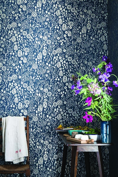 New Farrow & Ball Wallpaper designs 2017 Atacama Floral