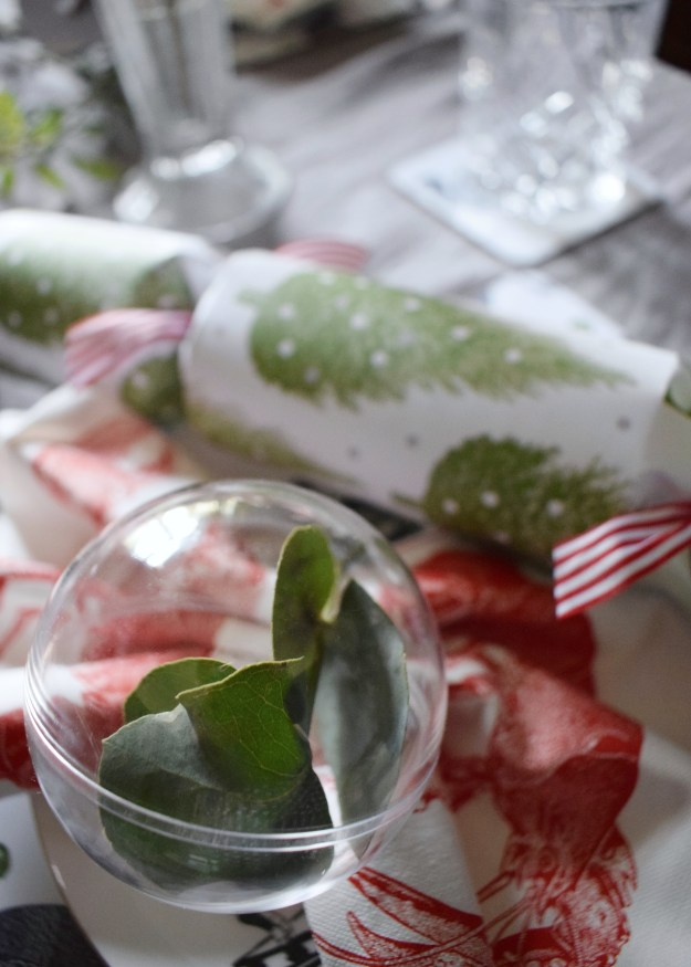 Thornback and Peel Festive designs for Christmas tableware 2017, turkeys brussel sprourts, trees, stags, robins. Christmas table design ideas refined pared back blogger challenge (1)