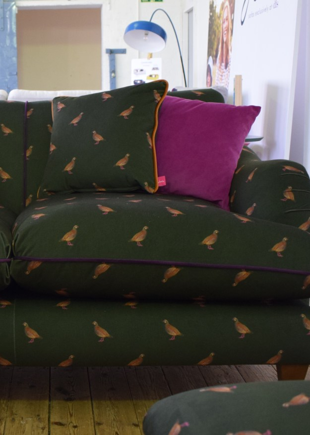 DFS Joules Collaboration Furniture Vintage pattern 2017