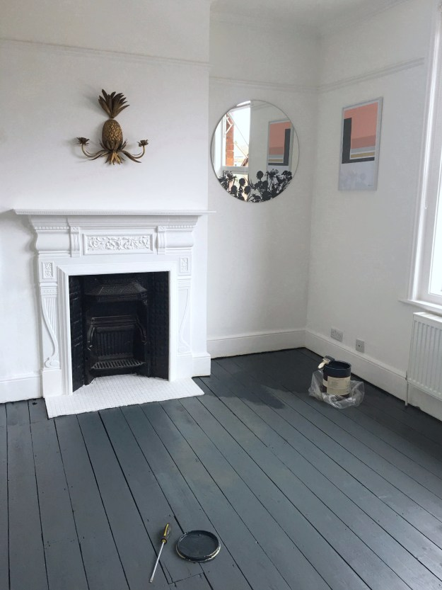 DIY | Sanding and Painting Floors: my top tips for the ...