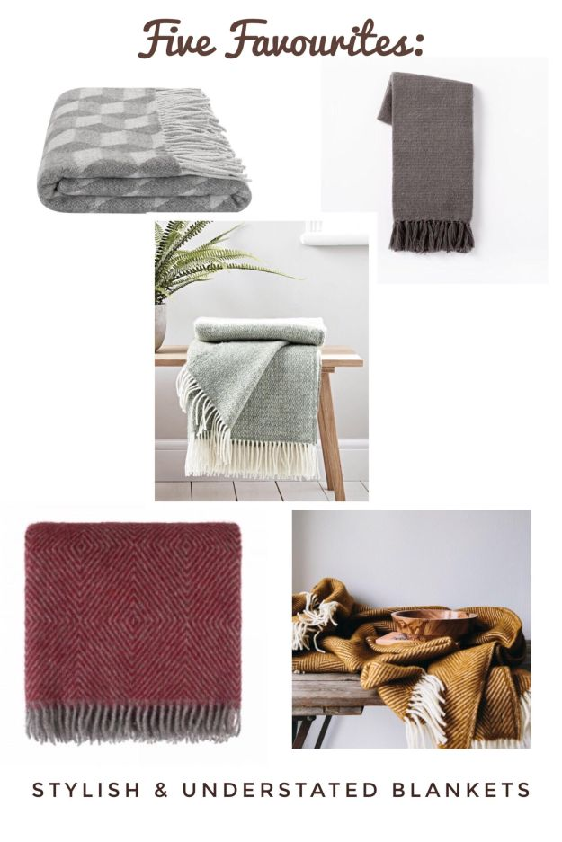 Favourite modern rustic Scandinavian minimalist blankets, interiors ideas and inspiration