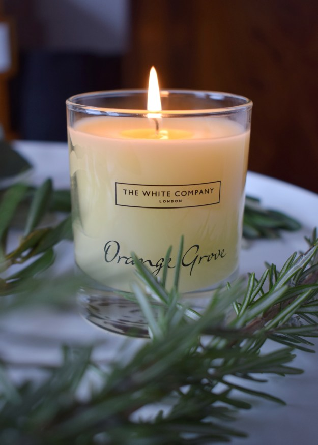 The White Company Mothers Day Gifts, Orange Grove Candle (1)