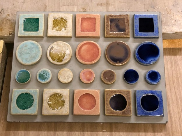 Loraine Glazing Samples