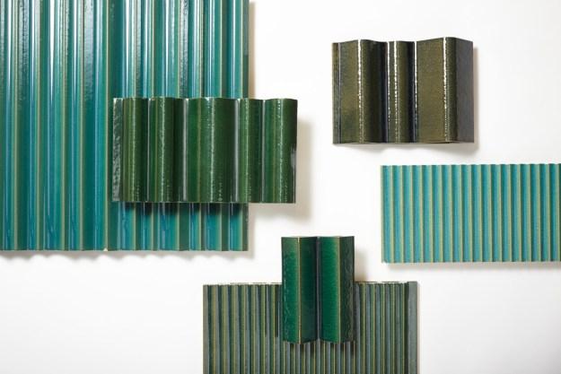 Mapleton Crescent SW18 Tile Colour Testing Samples
