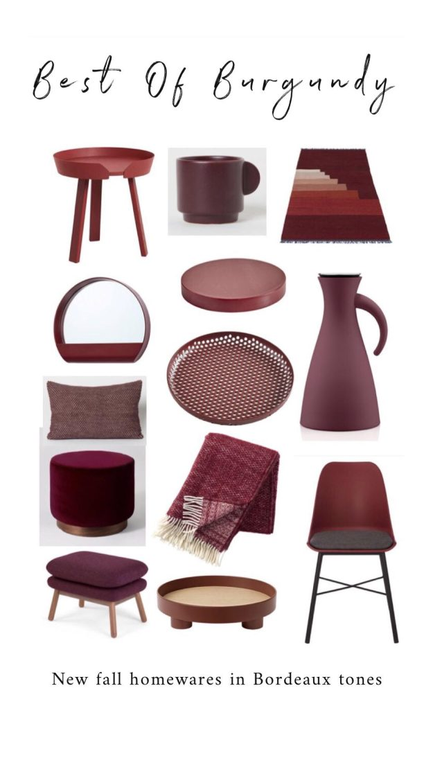 Best Burgundy Homewares