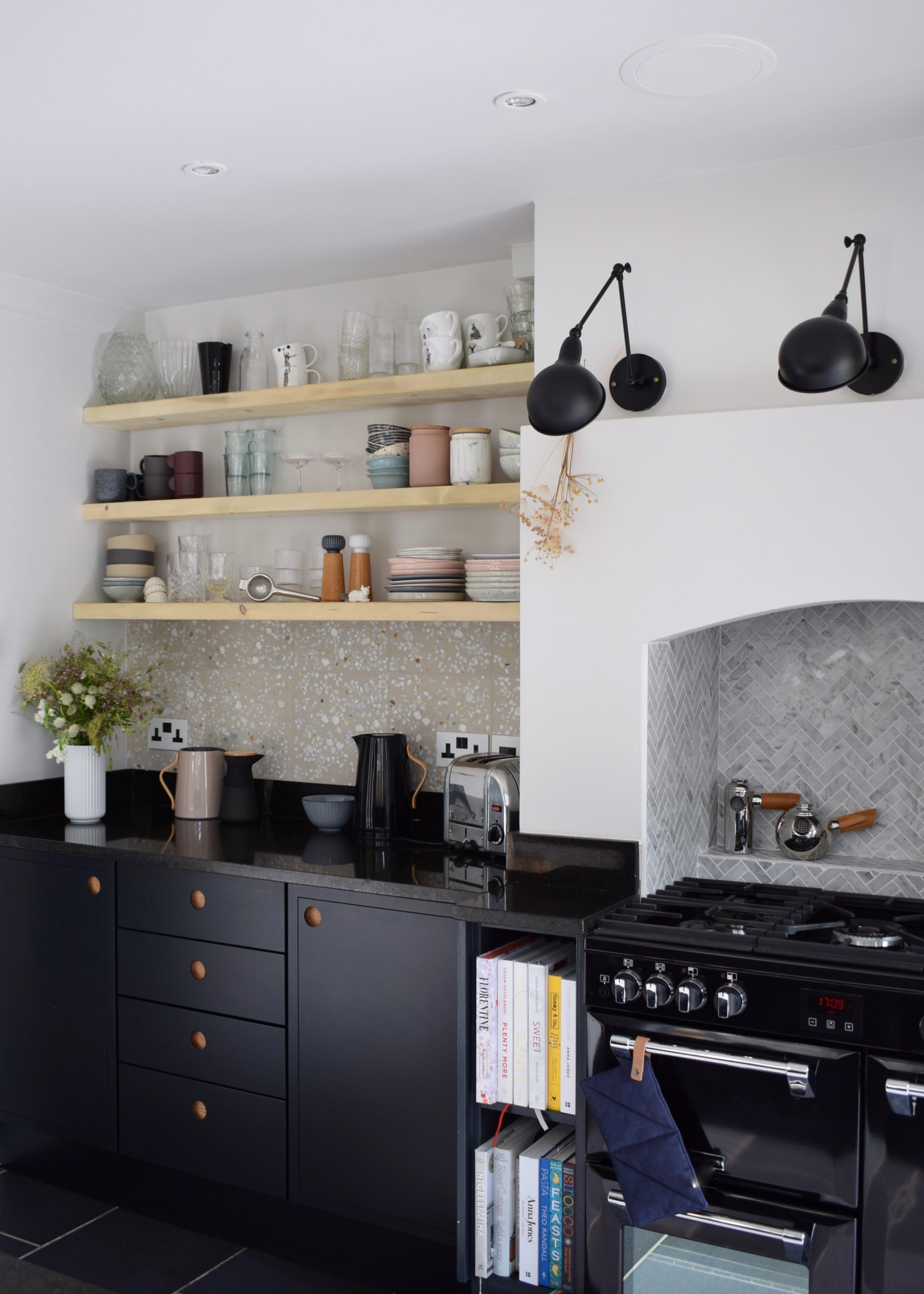 My Modern Grey Kitchen Makeover REVEAL