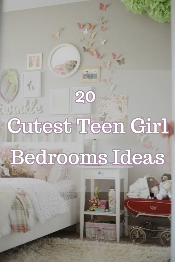 Cutest Teen Girl Bedrooms Ideas