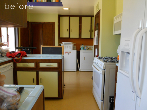 Before And After: Modern Galley Kitchen