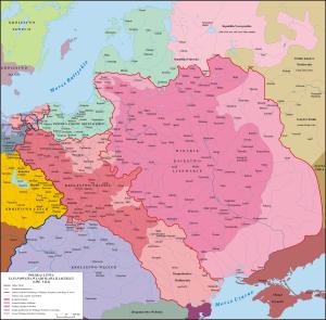 Polska i Litwa za panowania Władysława II Jagiełły (1386 - 1434)