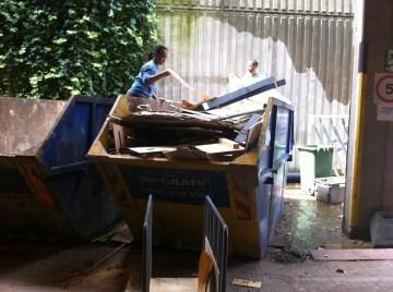 Scavenge hunt to salvage materials