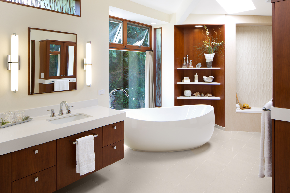 Best Kitchen Gallery: Award Winning Bathroom Remodel The Open Shower Concept of Award Winning Bathroom Designs  on rachelxblog.com