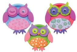 Owl Illustrations Client: Darice, sold to Michael's & JoAnn Stores