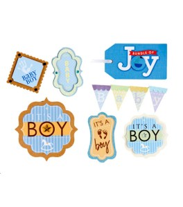Baby Boy Sticker Designs for David Tutera