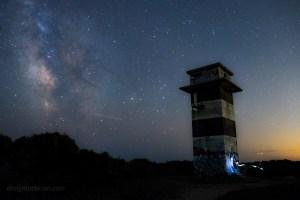 Perseid Meteor Shower – Gooseberry Island, Westport, MA. Midnight Shift Photography