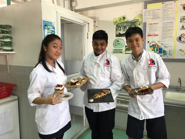 Creative dessert Collaboration – Chefs of the week (Aika, Agastya, Justin)