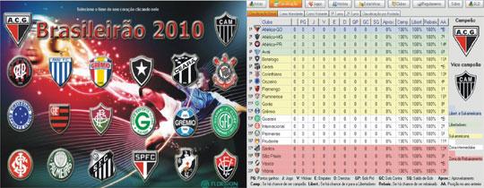 Guia Brasileirão 2010: Tabela dinâmica do campeonato Brasileiro
