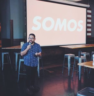 Henry Trejo presenting