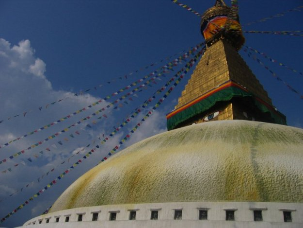Boudha stupa in 2007