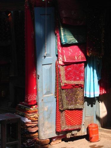 Door in Kathmandu