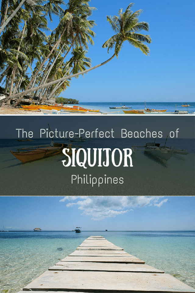 The perfect beaches of Siquijor, Philippines.