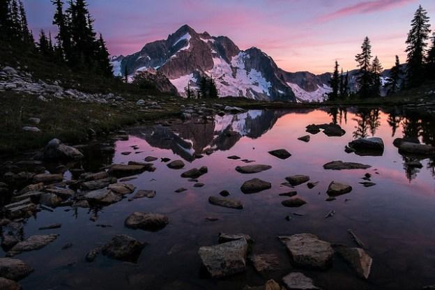 Sunset at Tapto Lakes
