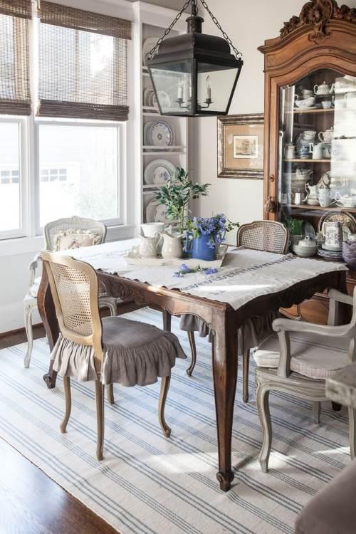paneling in a corner-Cedar Hill Farmhouse