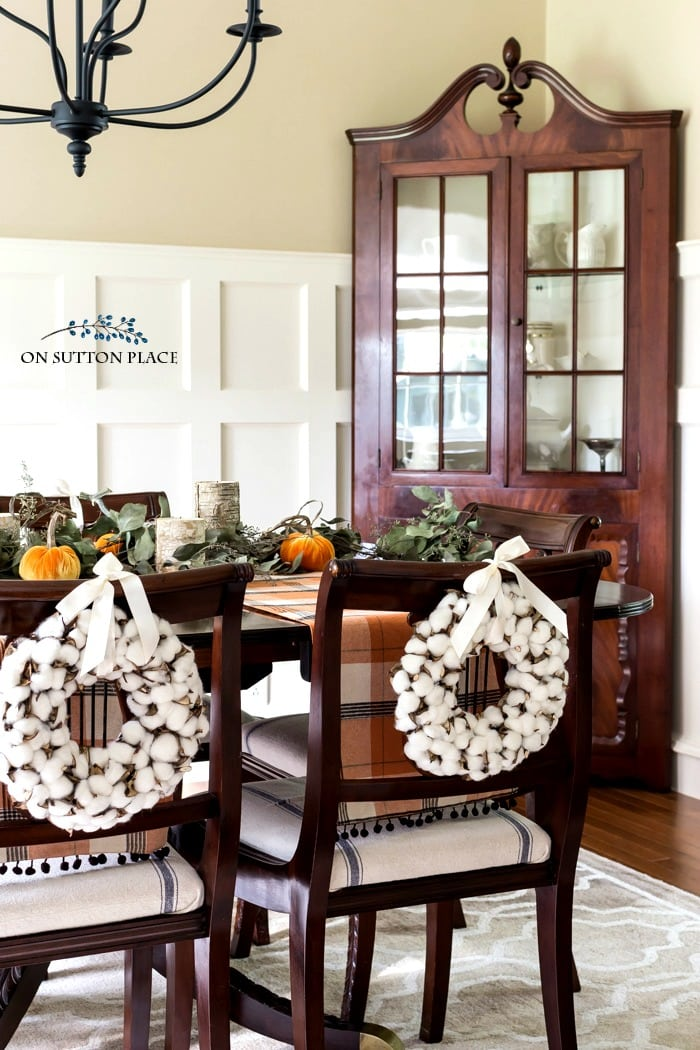 fall home tour on sutton place