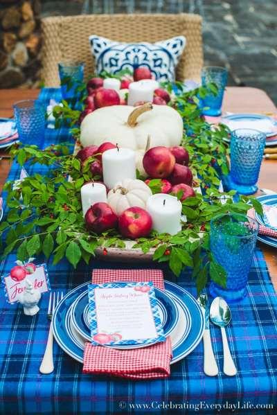 Thanksgiving centerpiece-Celebrating Everyday Life