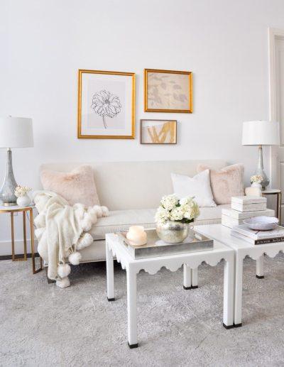 spring living room tour decor gold designs