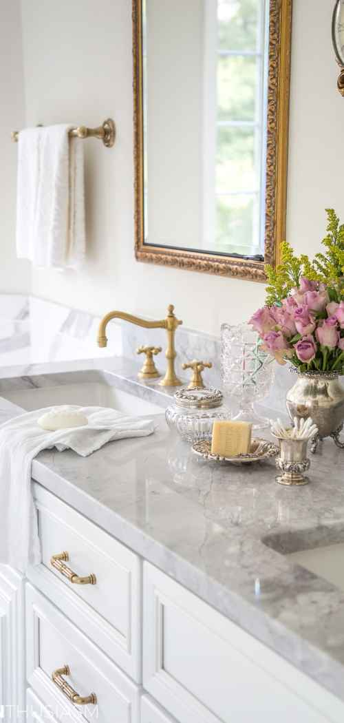 Master Bathroom Reveal: New Bathroom Makeover Before and After Details