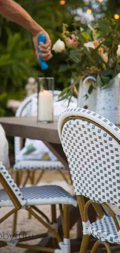French Style Patio Design shabbyfufu