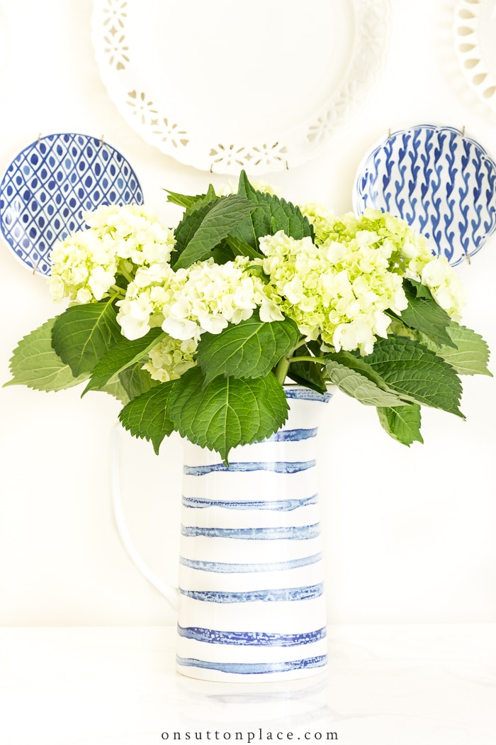 Make Hydrangeas Last Longer from On Sutton Place