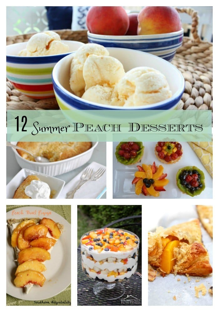 Peach-recipes