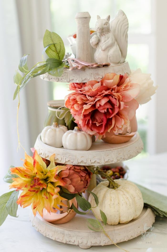 Fall Tiered Tray autumn