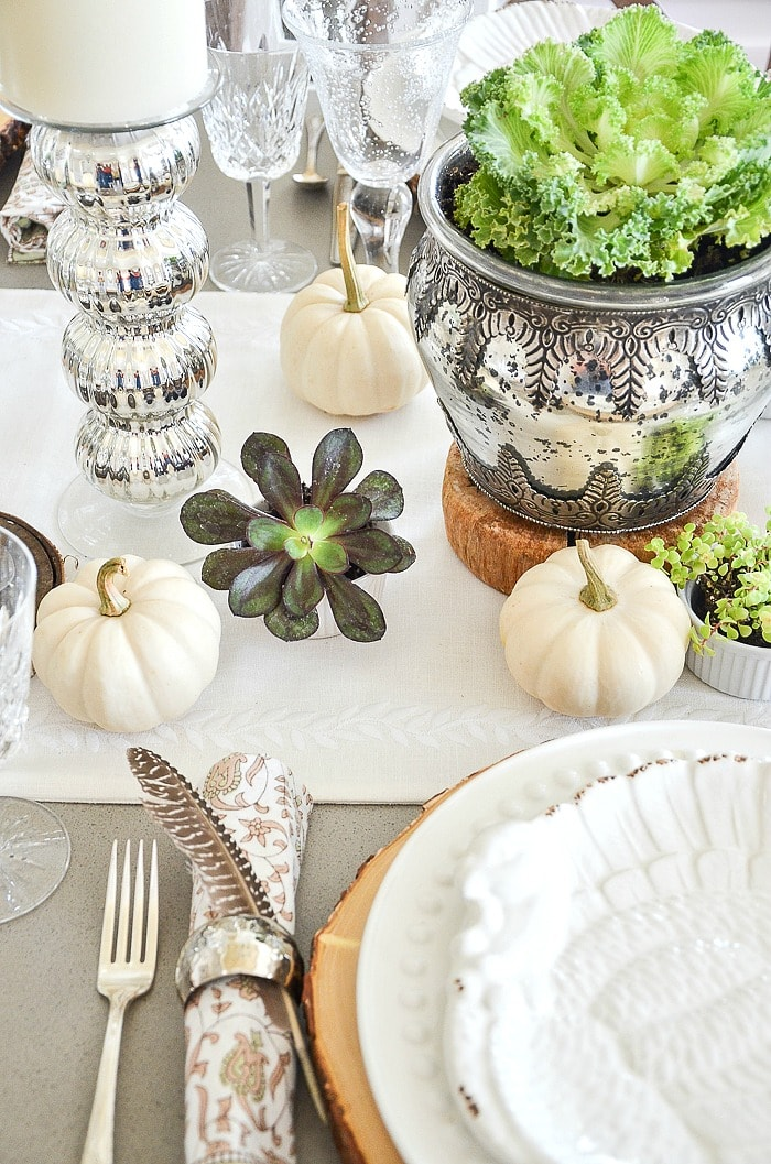 Thanksgiving table StoneGable