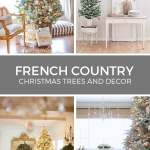 French Country Christmas Tree Decorations And Other Holiday Decor