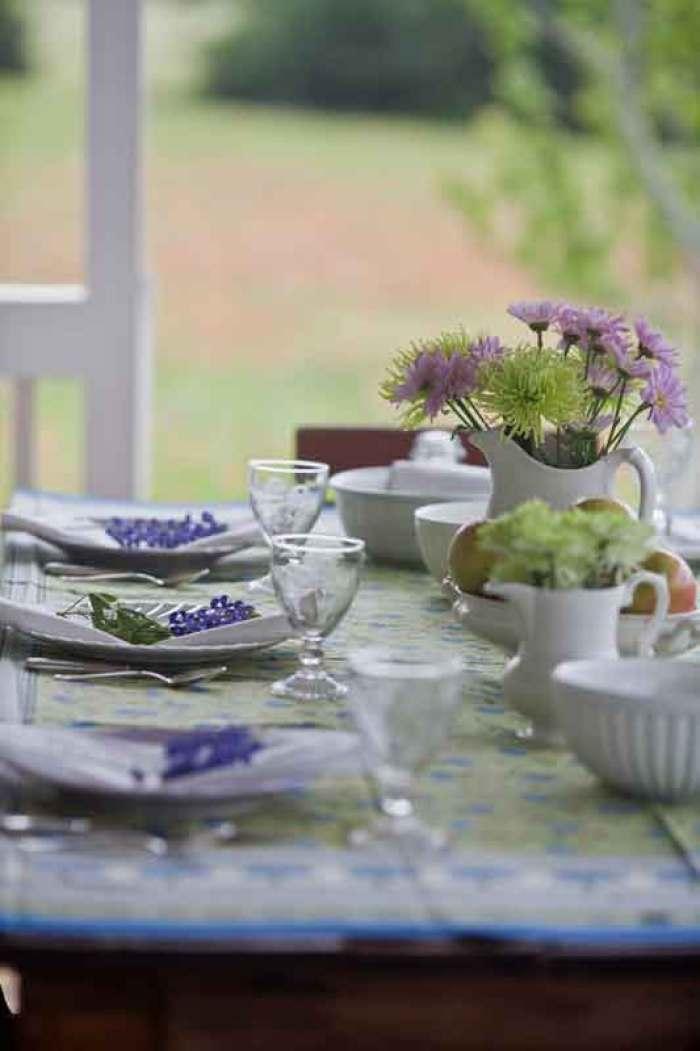 cedar hill farmhouse outdoor table