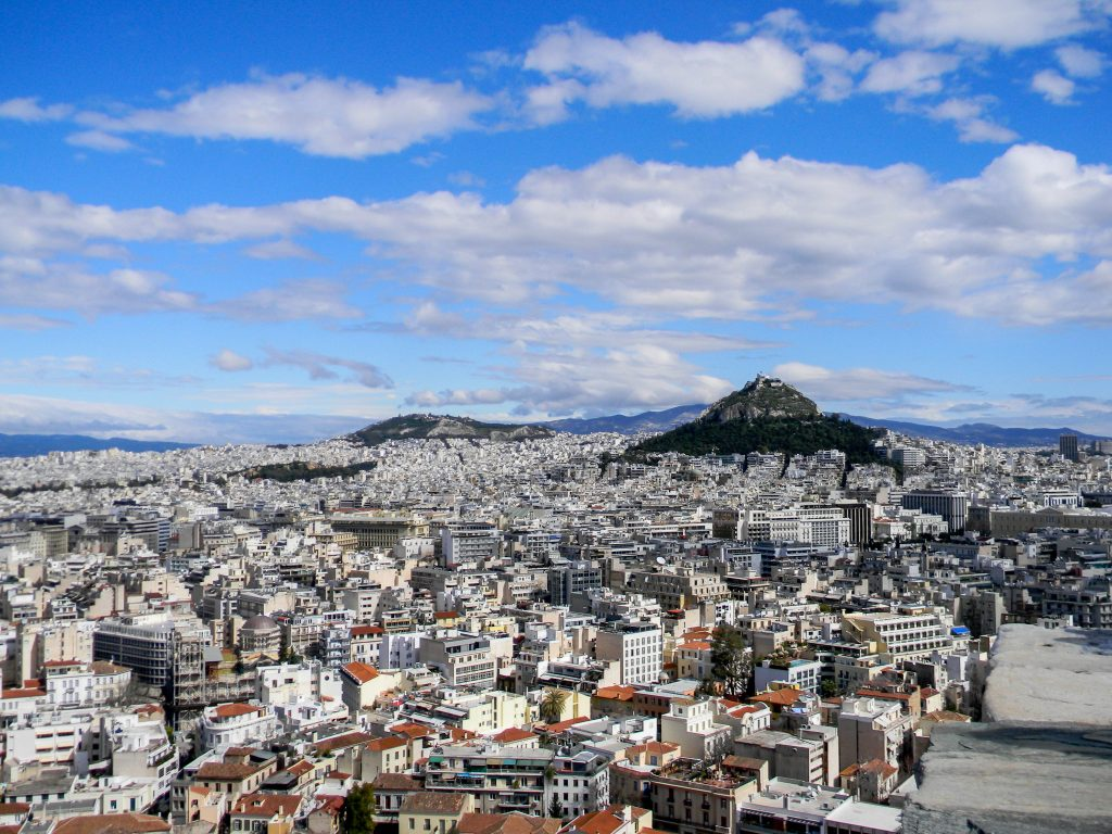 Athens, Greece -Lycabettus Hill - Scenic View