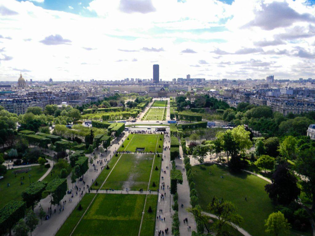 Paris, France - Eiffel Tower View