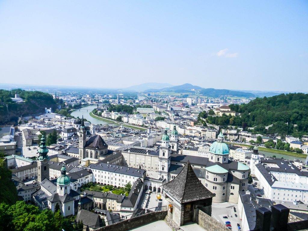 View from Hohensalzburg Castle - Salzburg, Austria