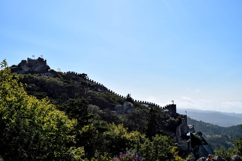 Castello dos Mouros View - Things to do in Sintra - Sintra Sites