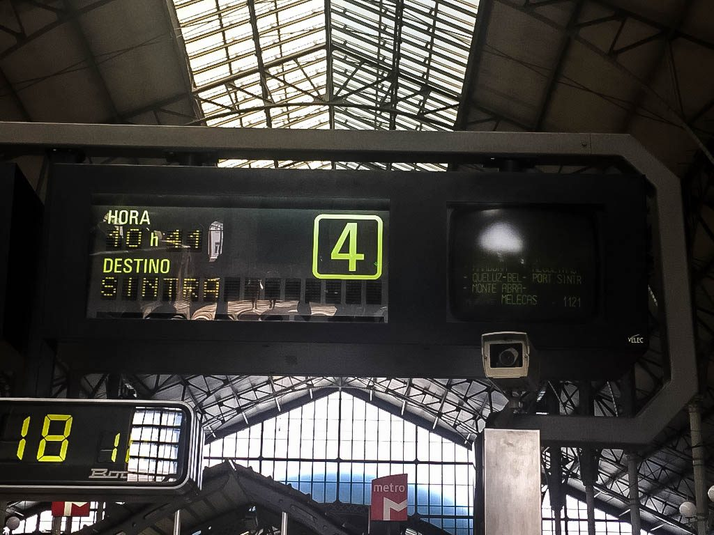 Rossio Station - How to Get to Sintra