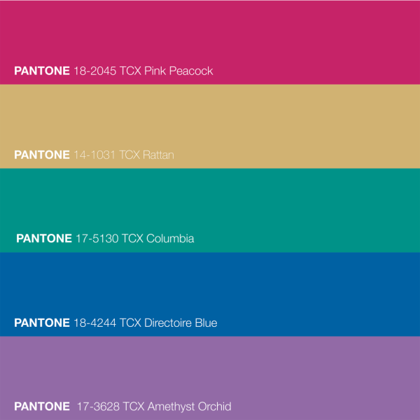 Pantone Color Palette - The Love I Vibrate
