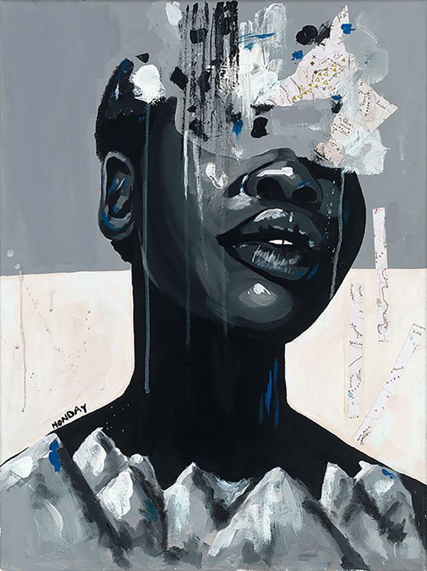 ArtbyMonday- Canvas Art - Black Artist