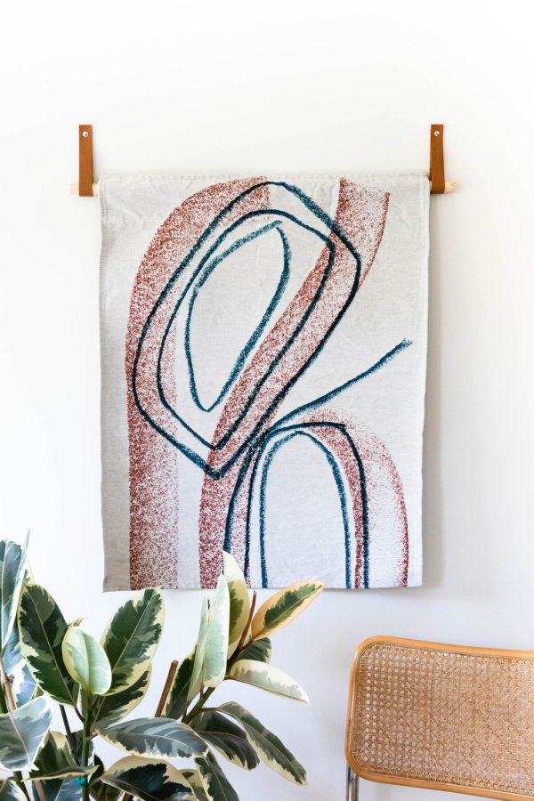Tapestry Woven - Abstract Art - K-Apostrophe