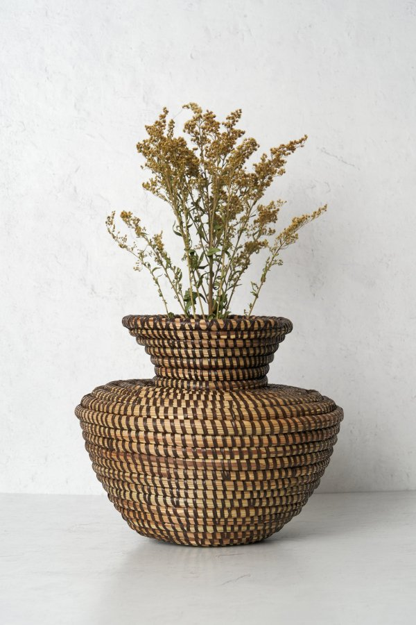Oba Woven Basket - Brown - Expedition Subsahara