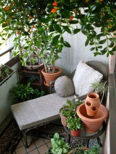 balcone verde
