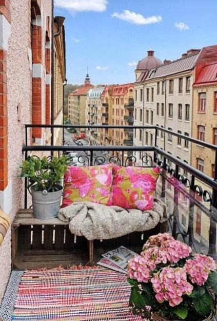 angolo relax sul balcone