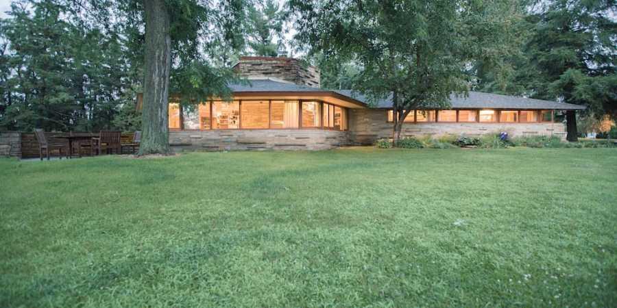 In vacanza con l'architettura, KINNEY HOUSE di Frank Lloyd Wright